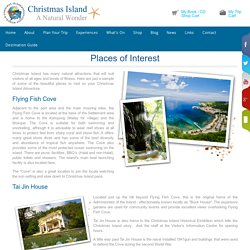 Christmas Island Tourism Association - Places of Interest