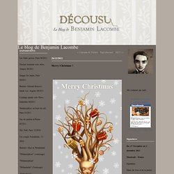 Merry Christmas ! : Le blog de Benjamin Lacombe