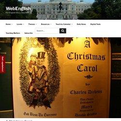 WebEnglish.se ⋆ Calendar ⋆ A Christmas Carol