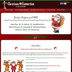 Santa Claus Facts, Origins, Christmas celebration in different countries, and fun Tidbits