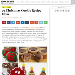 29 Christmas Cookie Recipe Ideas