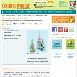 Groupe no l pearltrees for Country woman magazine crafts