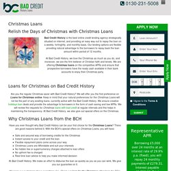 Make Your Christmas Time Memorable with Christmas Loans
