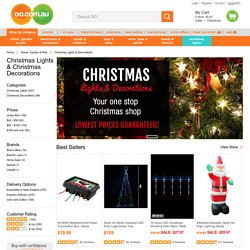 Online Christmas Lights & Christmas Decorations Discounts