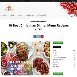 10 Best Christmas Dinner Ideas 2020