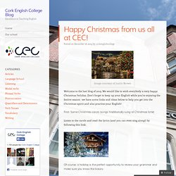 Happy Christmas from us all at CEC!