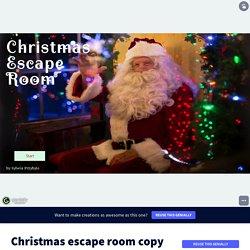 Christmas escape room copy by Sylwia Przybyło on Genially