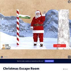Christmas Escape Room by wisec on Genially
