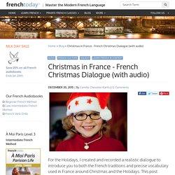 Noël dans nos familles françaises (with audio)