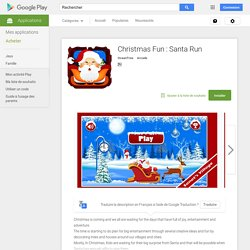 Christmas Fun : Santa Run