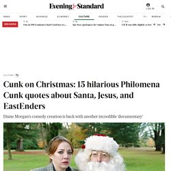 Cunk on Christmas: 15 hilarious Philomena Cunk quotes about Santa, Jesus, and EastEnders