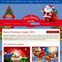 Christmas Images 2016 – Merry Christmas 2016 Images, Photos