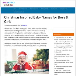 Christmas Inspired Baby Names for Boys & Girls