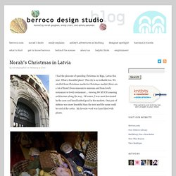 Norah's Christmas in Latvia