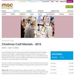 Christmas Craft Markets - 2015