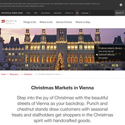 Christmas Markets in Vienna