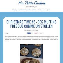 Christmas Time #3 – Des muffins presque comme un Stollen