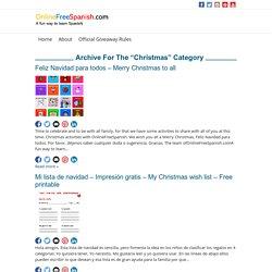Christmas – onlinefreespanish