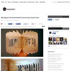 360 Degree Christmas Book Panorama by Yusuke Oono