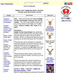 Preschool Lesson Plan Printable Activities