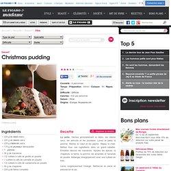 Christmas pudding - une recette Fête