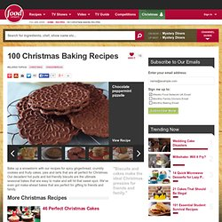 100 Christmas Baking Recipes : Food Network UK