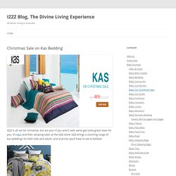 Christmas Sale on Kas Bedding