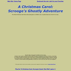 A Christmas Carol: Scrooge's Ghostly Adventure Online Board Game