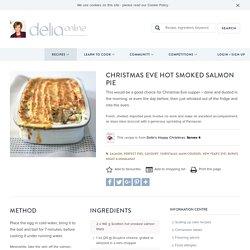 Christmas Eve Hot Smoked Salmon Pie