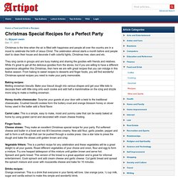 Christmas Special Recipes for a Perfect Party