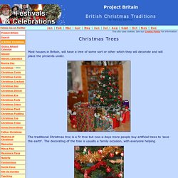 Christmas Tree Traditions in Britain (A British Christmas)