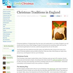 English Christmas Traditions - Lovely Christmas (UK)
