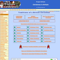Christmas Traditions in England, Scotland and Wales (A British Christmas)