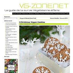 Christmas Vegan Cookies - VG-Zone.netVG-Zone.net