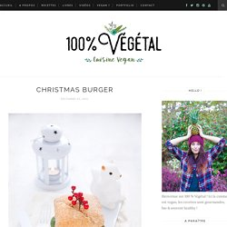 Christmas burger
