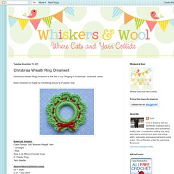 Christmas Wreath Ring Ornament