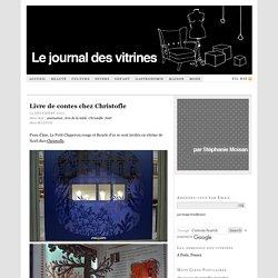 Livre de contes chez Christofle — Le Journal des Vitrines