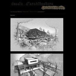 Jean-Christophe Marchal - Dessins d'architecture