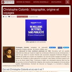 Christophe Colomb - Biographie (1451-1506)