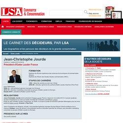 Jean-Christophe Jourde : Tout savoir sur Jean-Christophe Jourde, Président d'Estée Lauder France