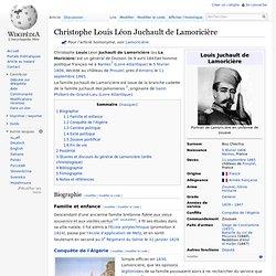 Christophe Louis Léon Juchault de Lamoricière
