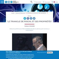 """Soulé Christophe - """"Le triangle de Pascal et ses propriétés"""" - 2008"""