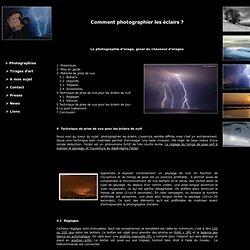 Christophe Suarez - Comment photographier les éclairs ?