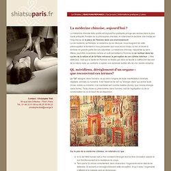 Shiatsu Paris, le site de Christophe Triet, praticien certifié école Iokaï : Accueil