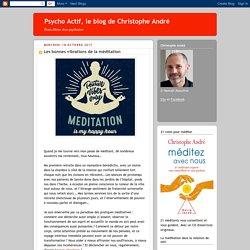 Les bonnes vibrations de la méditation