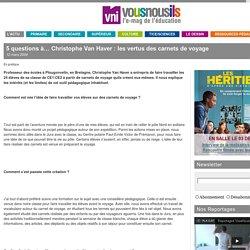 """""""Les vertus des carnets de voyage"""" - article VousNousIls"""