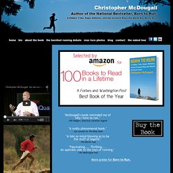 Christopher McDougall | Born to Run | National Bestseller