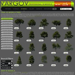 free 3d models tree, cars, christopher guy, clive christian and casadesus 1