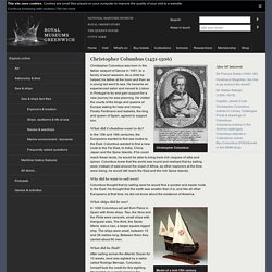 Christopher Columbus (1451-1506) : Explorers & leaders