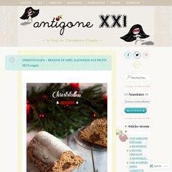 Chiststollen (brioche de Noël allemande)